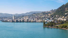 Montreux lizenzfreie stockfotografie