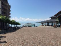 Montreux Arkivbild
