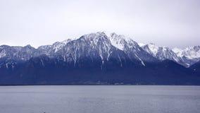 Montreux berg Royaltyfri Fotografi