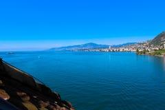Montreux, die Schweiz Lizenzfreies Stockfoto