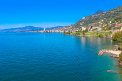 Montreux, die Schweiz Stockbilder