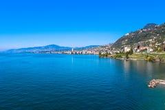 Montreux, die Schweiz Stockfoto