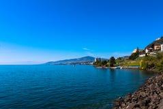 Montreux, die Schweiz Stockfotografie
