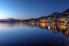 Montreux, die Schweiz Stockfotos
