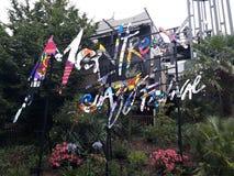 Montreux festiwalu jazzfestival popart Obraz Royalty Free