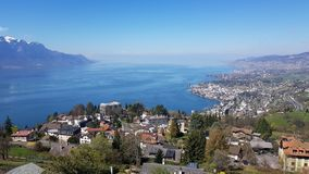 Montreux stock photo