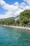 Montreux, Jeziorny Genewa, Szwajcaria Fotografia Royalty Free
