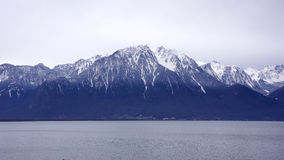 Montreux Mountain Royalty Free Stock Photography