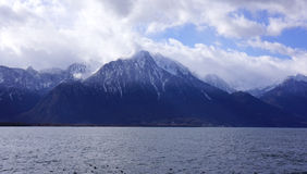 Montreux Mountains Royalty Free Stock Image