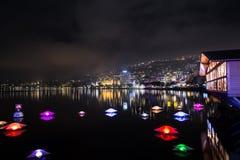 Montreux Noel stockfoto