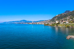 Montreux, Suisse Photo stock