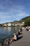 Montreux Swiss Riviera Royalty Free Stock Images