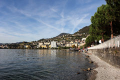 Montreux Swiss Riviera Royalty Free Stock Photography