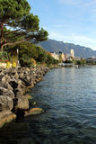 Montreux Swiss Riviera Stock Photography