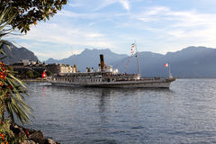 Montreux Swiss Riviera Stock Photos
