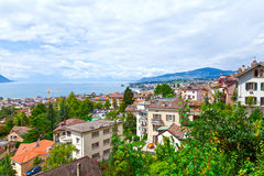 Montreux Town, Switzerland Stock Photos