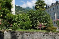 Montreux trädgård arkivbilder