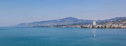 Montreux view Stock Photos
