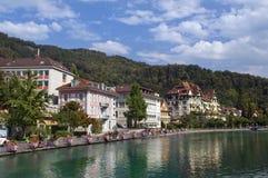 Montreux. Zwitserland Royalty-vrije Stock Afbeeldingen