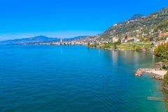 Montreux, Zwitserland stock afbeeldingen