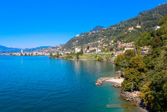 Montreux, Zwitserland Stock Afbeelding