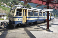 Montreux–Glion–Rochers-de-Naye railway Stock Photography