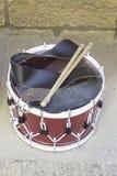 Montrez avec les tambours musicaux Photographie stock