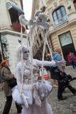 Montrez B-FIT intérieur dans la rue Bucarest 2014 Photos stock
