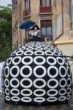 Montrez B-FIT intérieur dans la rue Bucarest 2014 Images libres de droits