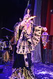 Montrez l'illusionniste vénitien Raman Soup Borsch de magicien de carnaval Photo libre de droits