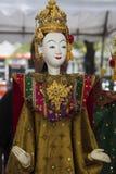 Montrez la héroïne modèle de drame pour la marionnette (la marionnette) photo libre de droits