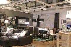 montrez la pi ce l 39 int rieur du magasin d 39 ikea photo ditorial image 37518511. Black Bedroom Furniture Sets. Home Design Ideas