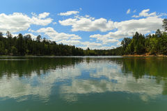 Montrez le bas lac Arizona Photos libres de droits