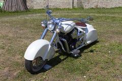 Montrez les motos NARVABIKE dans le territoire de la forteresse du 18 juillet 2010 dans Narva, Estonie Images stock