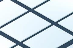 montri modello a web design di app di presentazione Fotografie Stock
