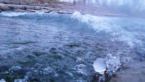 montroae科罗拉多uncompahgre河 库存图片