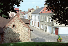 Montroi -montroi-sur-mer Royalty-vrije Stock Foto's