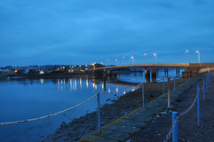 Montrose Bridge Scotland Fotografia de Stock Royalty Free