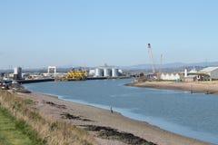 Montrose hamn Arkivbilder