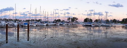 Montrose Harbor Royalty Free Stock Photos