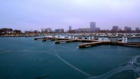 Montrose schronienie: Chicago, IL zima zdjęcie wideo