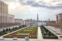 Monts des Arts στις Βρυξέλλες, Βέλγιο Στοκ φωτογραφίες με δικαίωμα ελεύθερης χρήσης