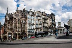 Monts des Arts, Brussels Stock Image