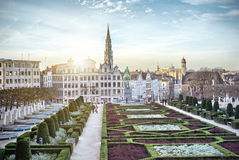 Free Monts Des Arts In Brussels Stock Image - 54533351