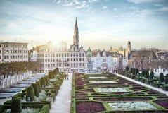 Monts DES-Künste in Brüssel Stockbild