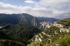 Montsant Landscape. Montsant mountain in Priorat, Catalonia Royalty Free Stock Images