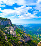 Montserrat. High mountains in Spain Royalty Free Stock Photos