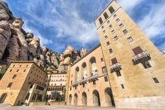Montserrat. Abbey vicinity. Catalonia, Spain Stock Images