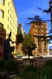 Montserrat abbotskloster, Spanien Arkivbild