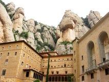 Montserrat-Abtei stockfotografie